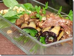 farci aubergine grillee epinard confit canard
