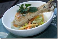 pilon poulet coco gingembre