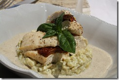 roulade poulet risotto ebly