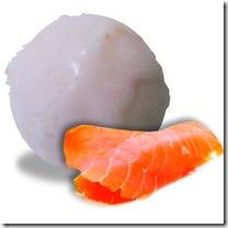 glace saumon