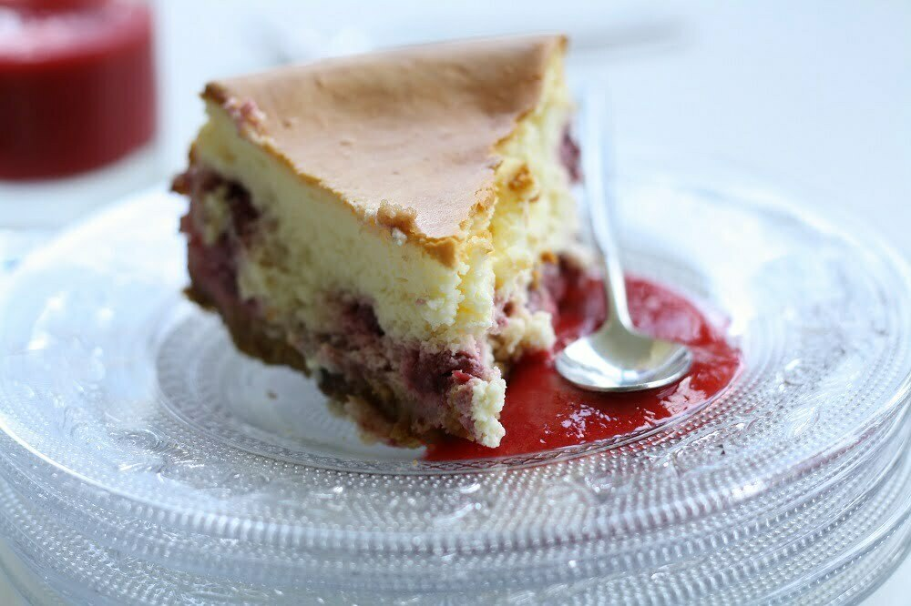 Cheesecake Mousseux aux Framboises