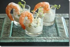 verrine concombre courgette