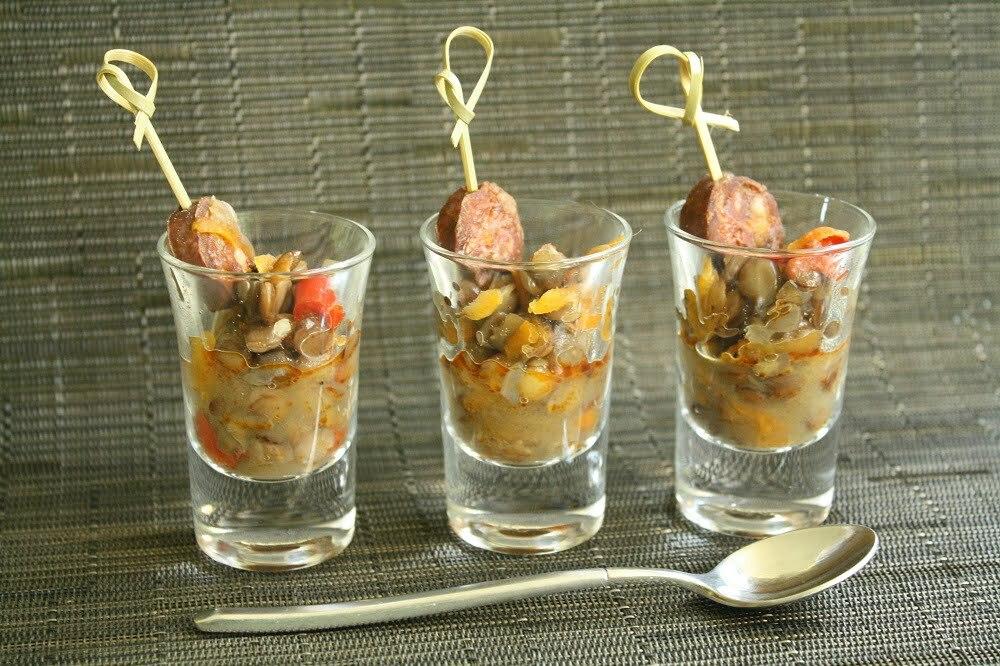 salade de lentille au chorizo