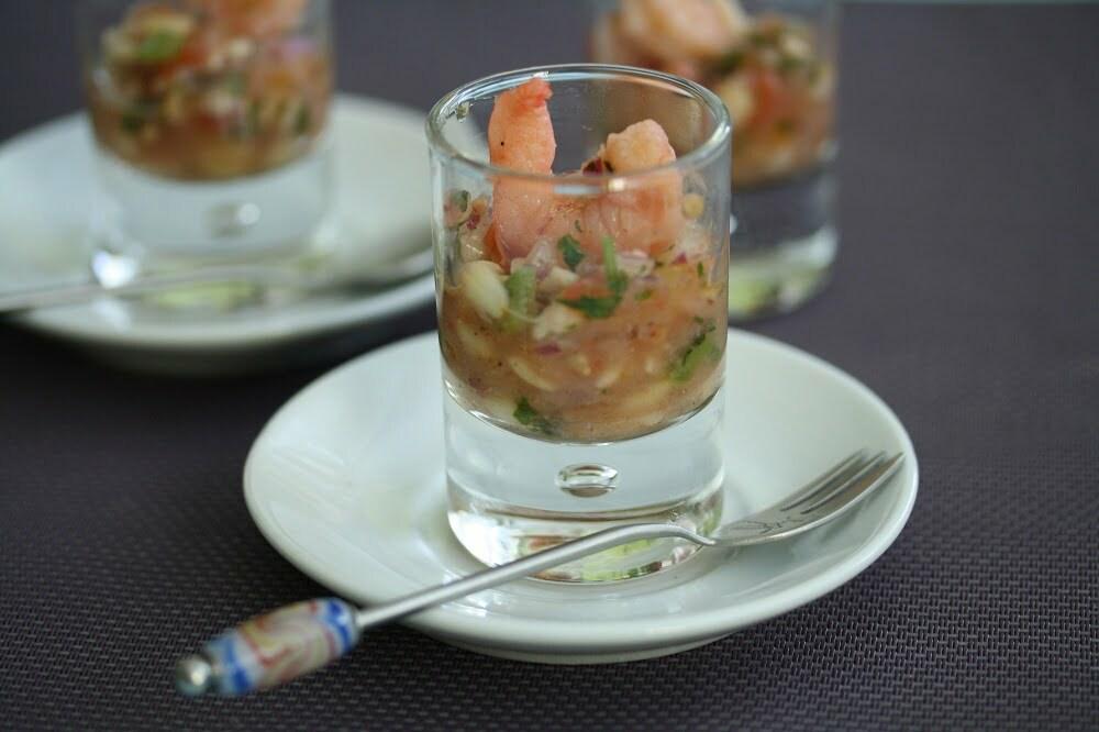 taboulé ebly tomate gambas